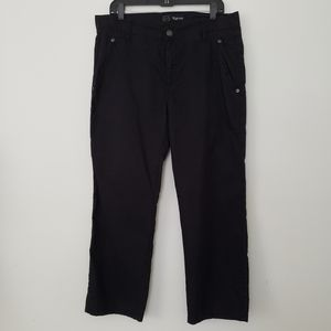 Other - Men's Black Casual Pants Flat Front Reg W 33 x 28